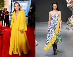 Zoey Deutch to wear Tory Burch Fall 2020 RTW