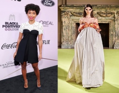 Logan Browning to wear Vera Wang Fall 2020 RTW