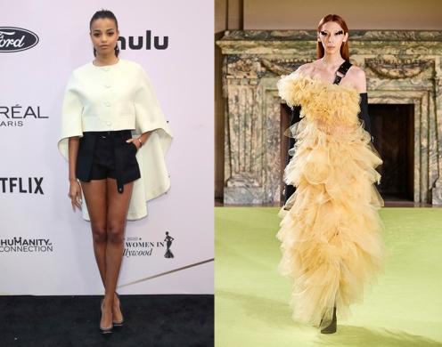 Ella Balinska to wear Vera Wang Fall 2020 RTW