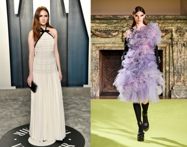 Karen Gillan to wear Vera Wang Fall 2020 RTW