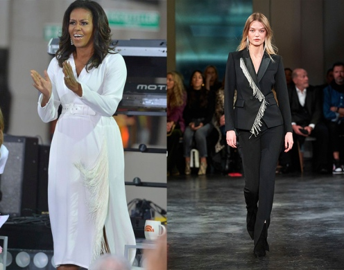 Michelle Obama to wear Veronica Beard Fall 2020 RTW