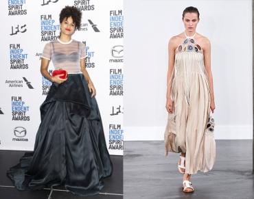 Zazie Beetz to wear Gabriela Hearst Spring 2020 RTW