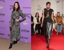 Anne Hathaway to wear 16Arlington Fall 2020 RTW
