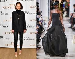 Michelle Dockery to wear Akris Fall 2020 RTW