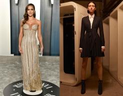 Jessica Alba to wear Alaia Fall 2020 RTW