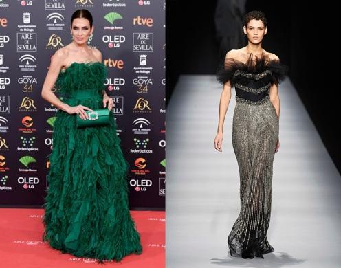 Nieves Alvarez to wear Alberta Ferretti Fall 2020 RTW
