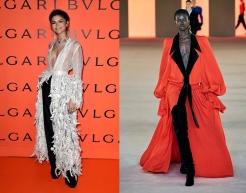 Zendaya to wear Balmain Fall 2020 RTW
