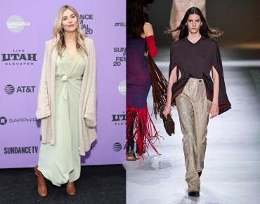 Sienna Miller to wear Bottega Veneta Fall 2020 RTW