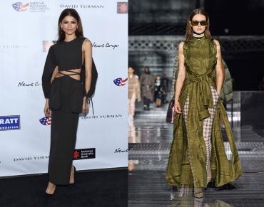 Zendaya to wear Burberry Fall 2020 RTW