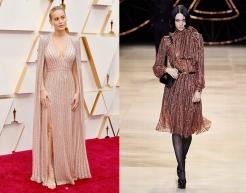 Brie Larson to wear Celine Fall 2020 RTW