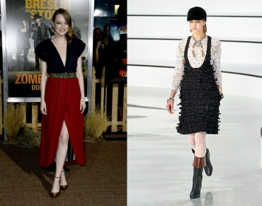 Emma Stone to wear Chanel Fall 2020 RTW