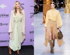 Sienna Miller to wear Chloe Fall 2020 RTW
