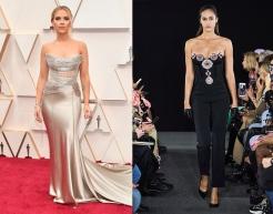 Scarlett Johansson to wear David Koma Fall 2020 RTW