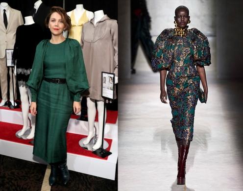 Maggie Gyllenhaal to wear Dries Van Noten Fall 2020 RTW