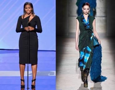 Michelle Obama to wear Dries Van Noten Fall 2020 RTW
