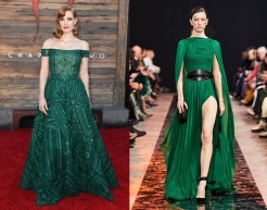 Jessica Chastain to wear Elie Saab Fall 2020 RTW