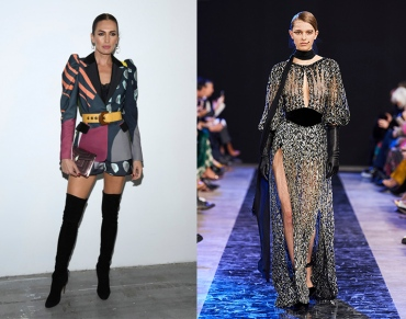 Nieves Alvarez to wear Elie Saab Fall 2020 RTW