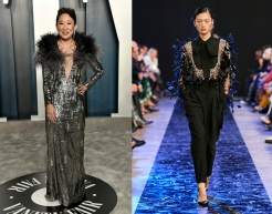 Sandra Oh to wear Elie Saab Fall 2020 RTW