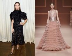 Angela Sarafayn to wear Elisabetta Franchi Fall 2020 RTW