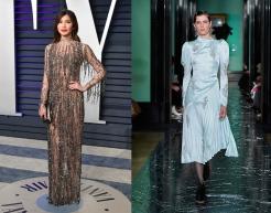 Gemma Chan to wear Erdem Fall 2020 RTW