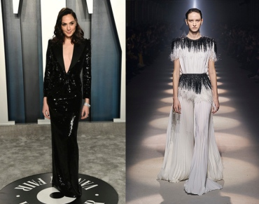 Gal Gadot to wear Givenchy Fall 2020 RTW