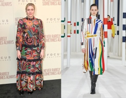 Greta Gerwig to wear Hermes Fall 2020 RTW
