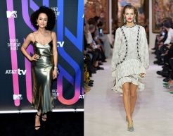 Nathalie Emmanuel to wear Lanvin Fall 2020 RTW