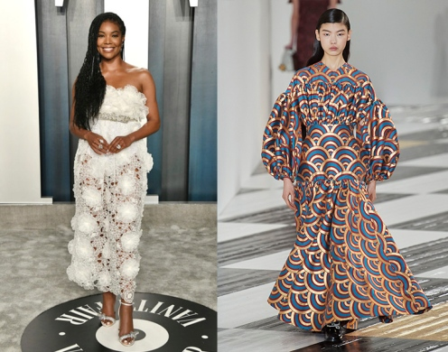 Gabrielle Union to wear Loewe Fall 2020 RTW