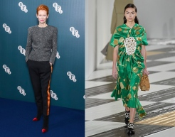 Tilda Swinton to wear Loewe Fall 2020 RTW