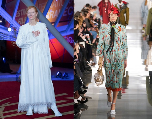 Tilda Swinton to wear Maison Margiela Fall 2020 RTW