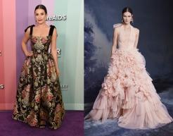 Lea Michele to wear Marchesa Fall 2020 RTW
