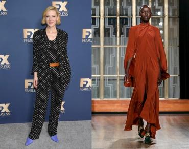 Cate Blanchett to wear Petar Petrov Fall 2020 RTW