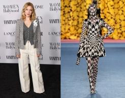 Lea Seydoux to wear Richard Quinn Fall 2020 RTW
