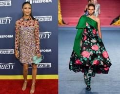 Thandie Newton to wear Richard Quinn Fall 2020 RTW