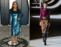 Salma Hayek to wear Saint Laurent Fall 2020 RTW