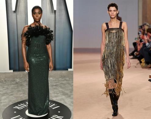 Lashana Lynch to wear Salvatore Ferragamo Fall 2020 RTW