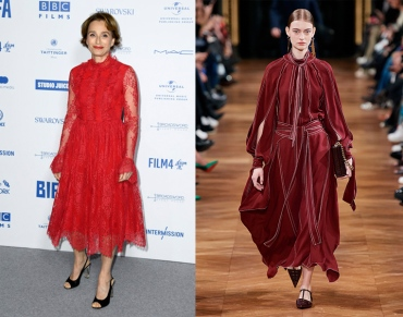 Kristin Scott Thomas to wear Stella McCartney Fall 2020 RTW