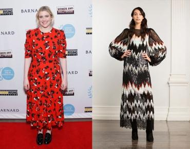 Greta Gerwig to wear Temperley London Fall 2020 RTW