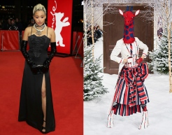 Amandala Stenberg to wear Thom Browne Fall 2020 RTW