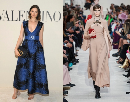 Caitriona Balfe to wear Valentino Fall 2020 RTW