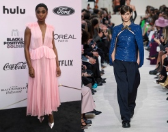 Lashana Lynch to wear Valentino Fall 2020 RTW