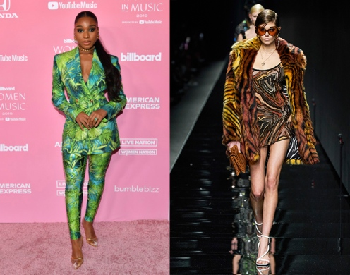 Normani to wear Versace Fall 2020 RTW