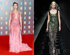 Scarlett Johansson to wear Versace Fall 2020 RTW