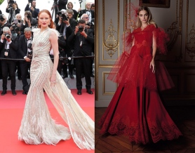 Barbara Meier to wear Alexis Mabille Fall 2019 Couture