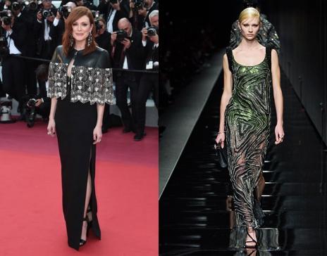 Julianne Moore to wear Versace Fall 2020 RTW