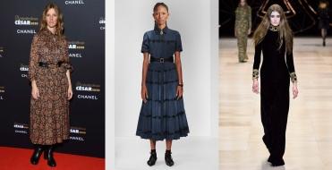 Sandrine Kiberlain to wear Christian Dior Pre-Fall 2020 and Celine Fall 2020 RTW