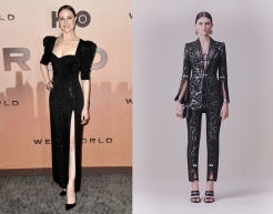 Evan Rachel Wood to wear Alexander McQueen Pre-Fall 2020