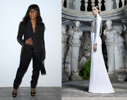 Angela Bassett to wear Antonio Grimaldi Fall 2020 Couture