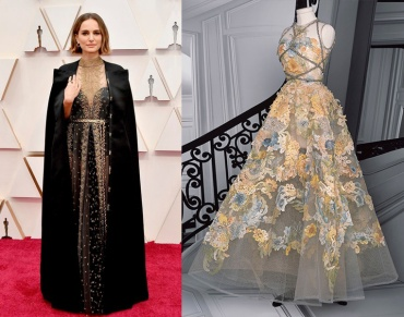 Natalie Portman to wear Christian Dior Fall 2020 Couture