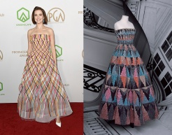 Zoey Deutch to wear Christian Dior Fall 2020 Couture